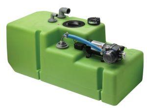 Wassertank mit 12V Pumpe 12,5 L//min Frischwasser-Tank Boot Trinkwasser-Tank Tank